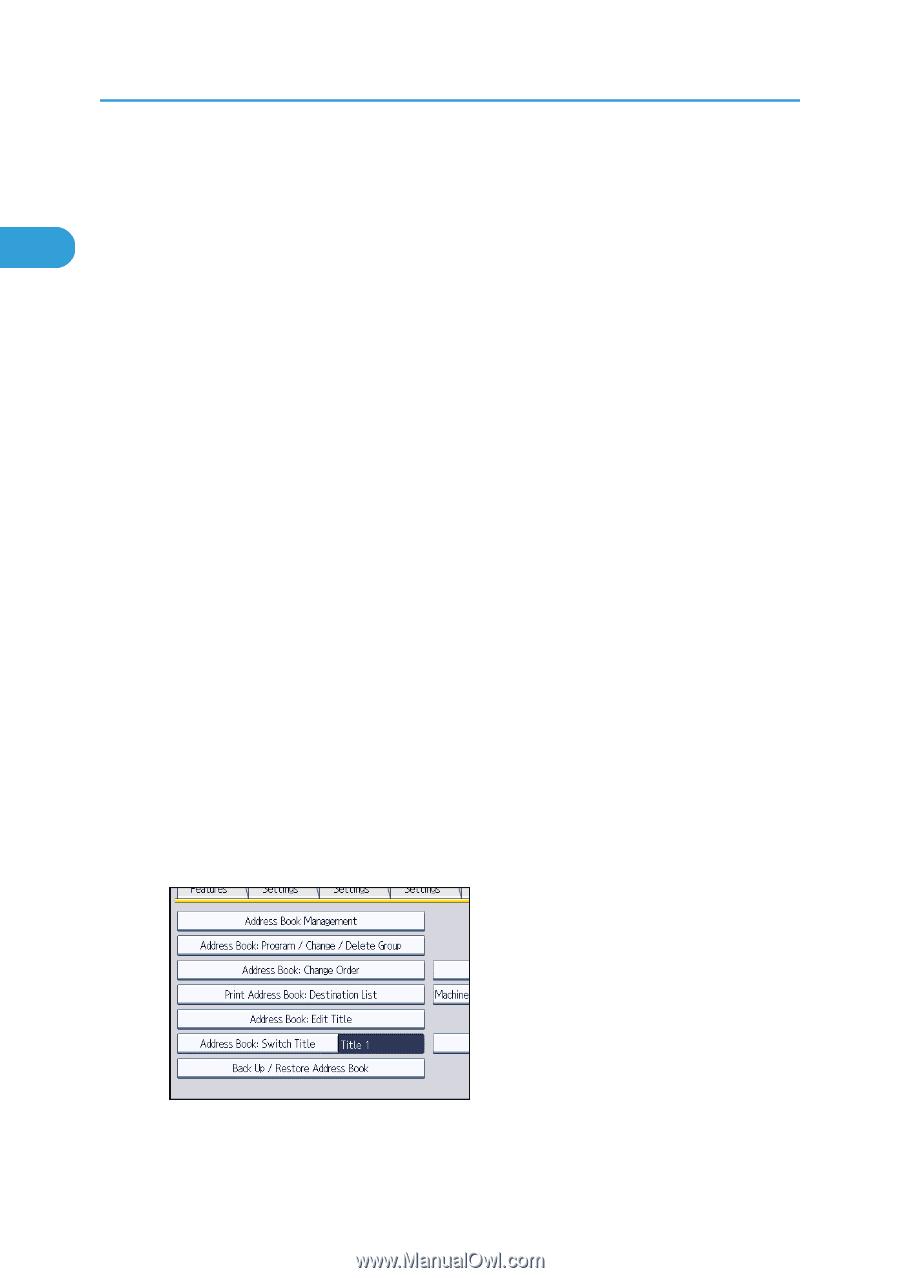 Ricoh Aficio SP 5210SF | Network Guide - Page 57