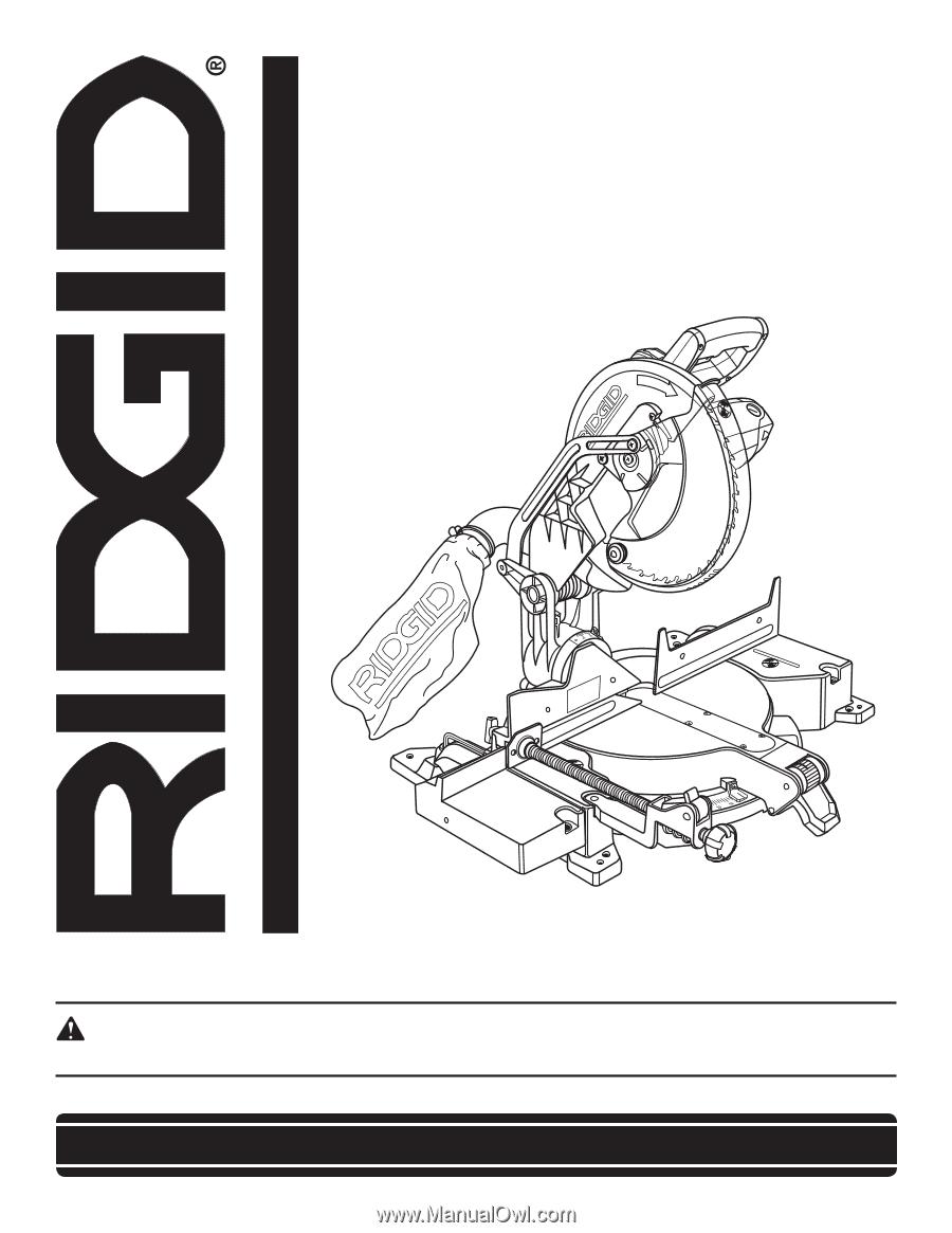 ridgid r4120 owners manual rh manualowl com
