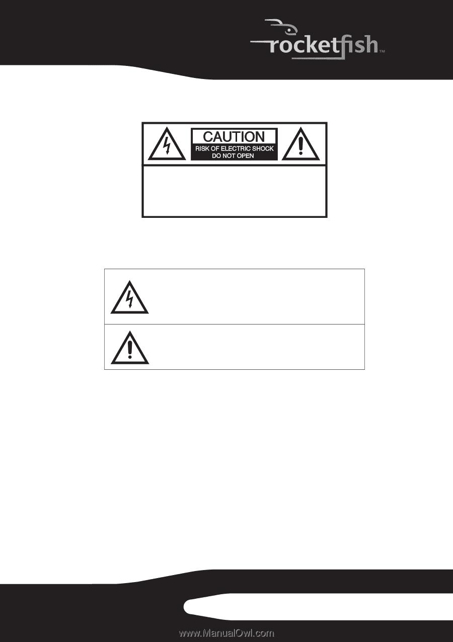 Rocketfish RF-WHTIB | User Manual (English)