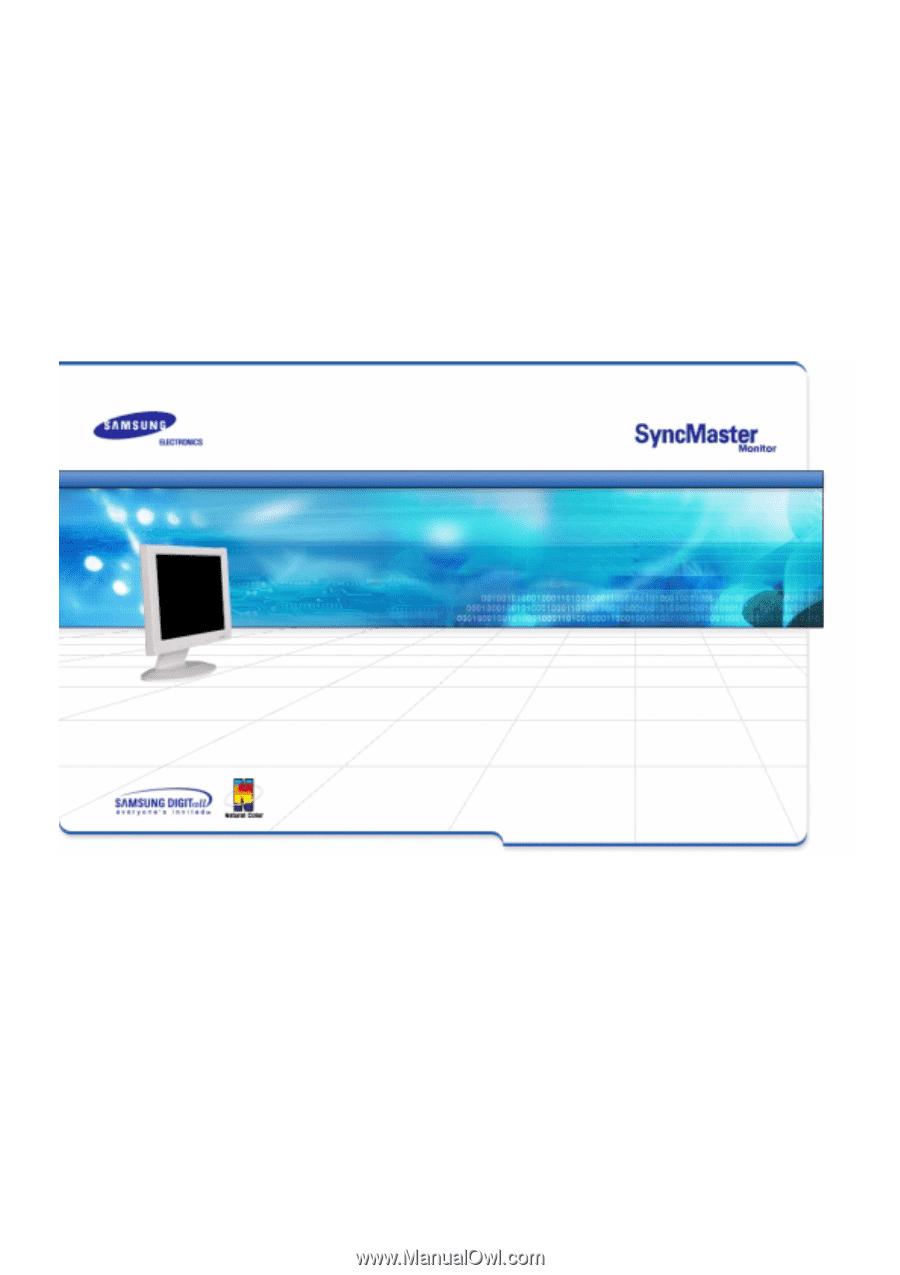 Samsung syncmaster 152n