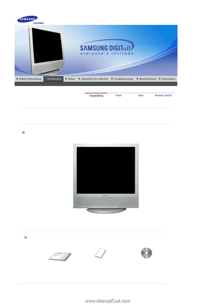samsung 910mp user manual english rh manualowl com samsung syncmaster 910mp service manual Samsung SyncMaster 550V Manual