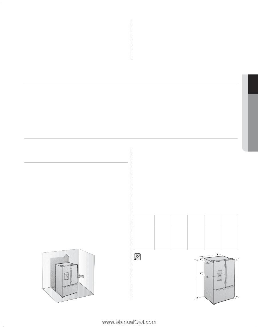 Samsung Bottom Mount Réfrigérateur RFG298HD RFG297HD service manual