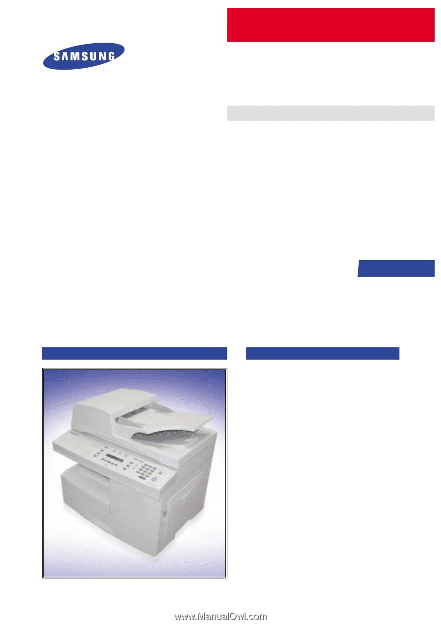 Samsung SCX 6322DN | Service Manual