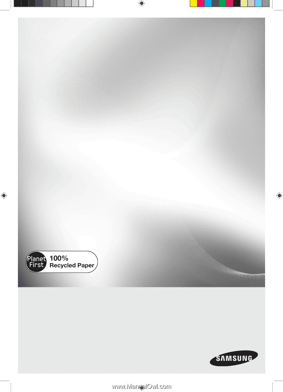 Samsung Smh1816s User Manual