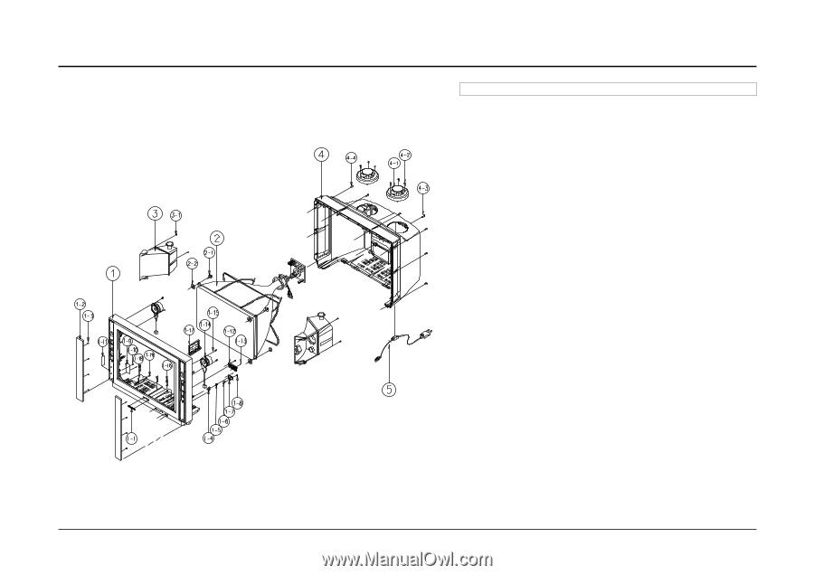 Samsung TSL3294HF | Service Manual - Page 37