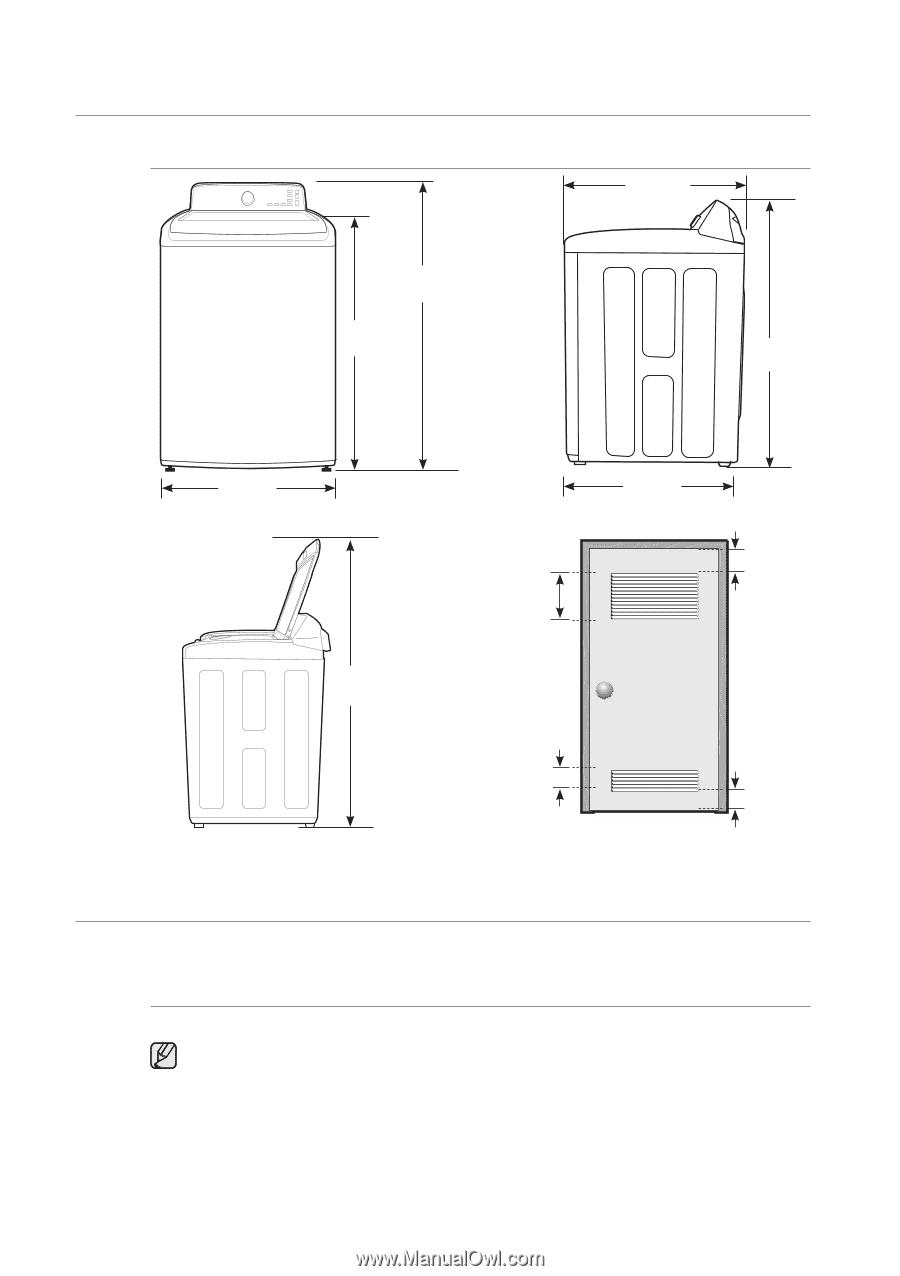 samsung wa400pjhdwr aa user manual ver 1 0 (english) page 17 how to reset washing machine samsung wa5471ab series service manual