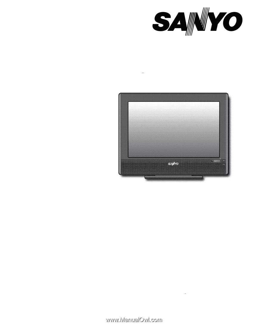 Sanyo DP19648 | Owners Manual