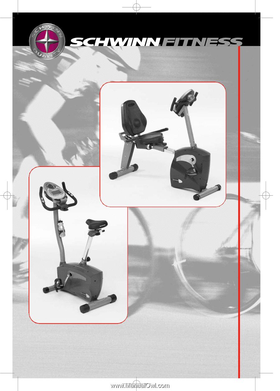 Schwinn 213 Recumbent Exercise Bike | Owner's Manual