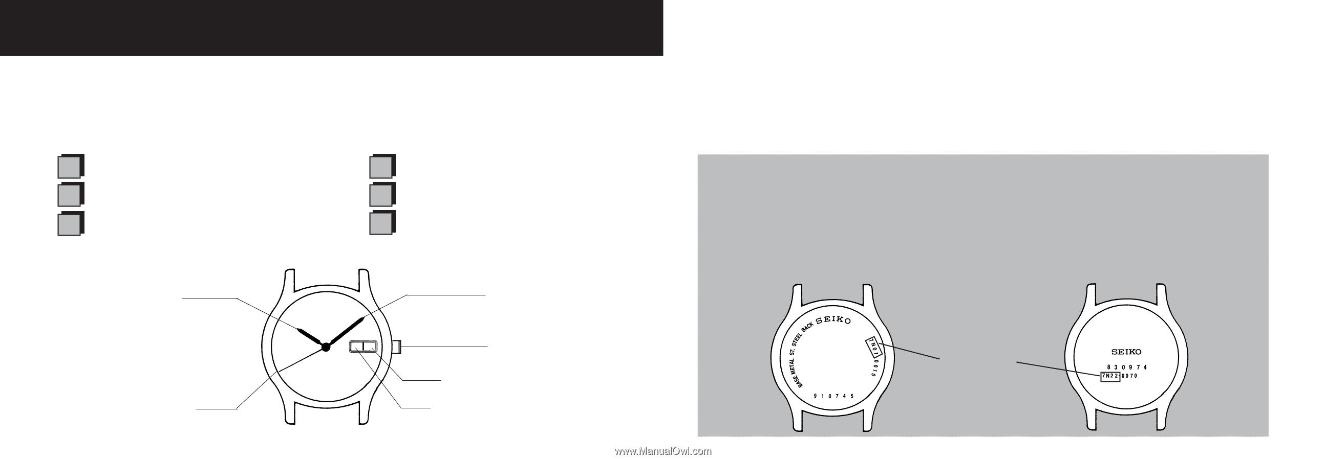 Seiko 7n82 Manual