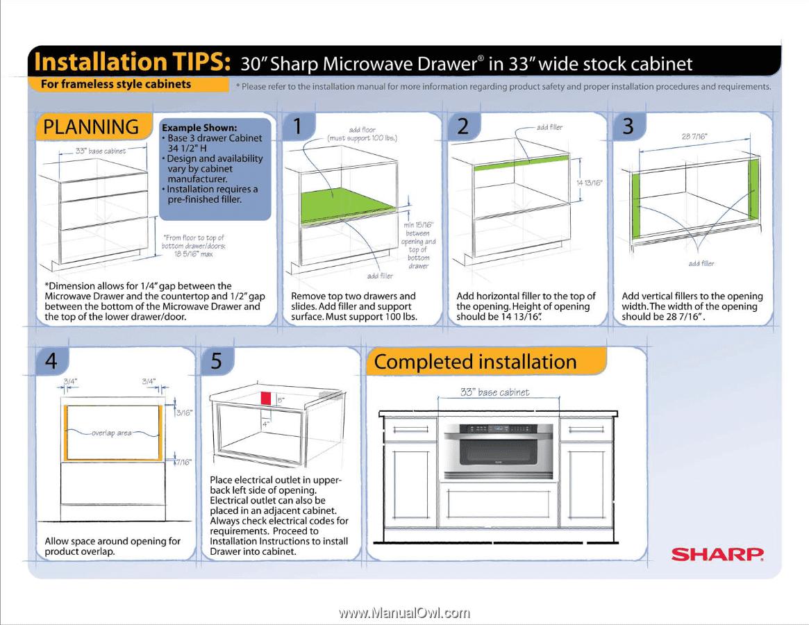 Sharp Kb6025ms Installation Tips 30