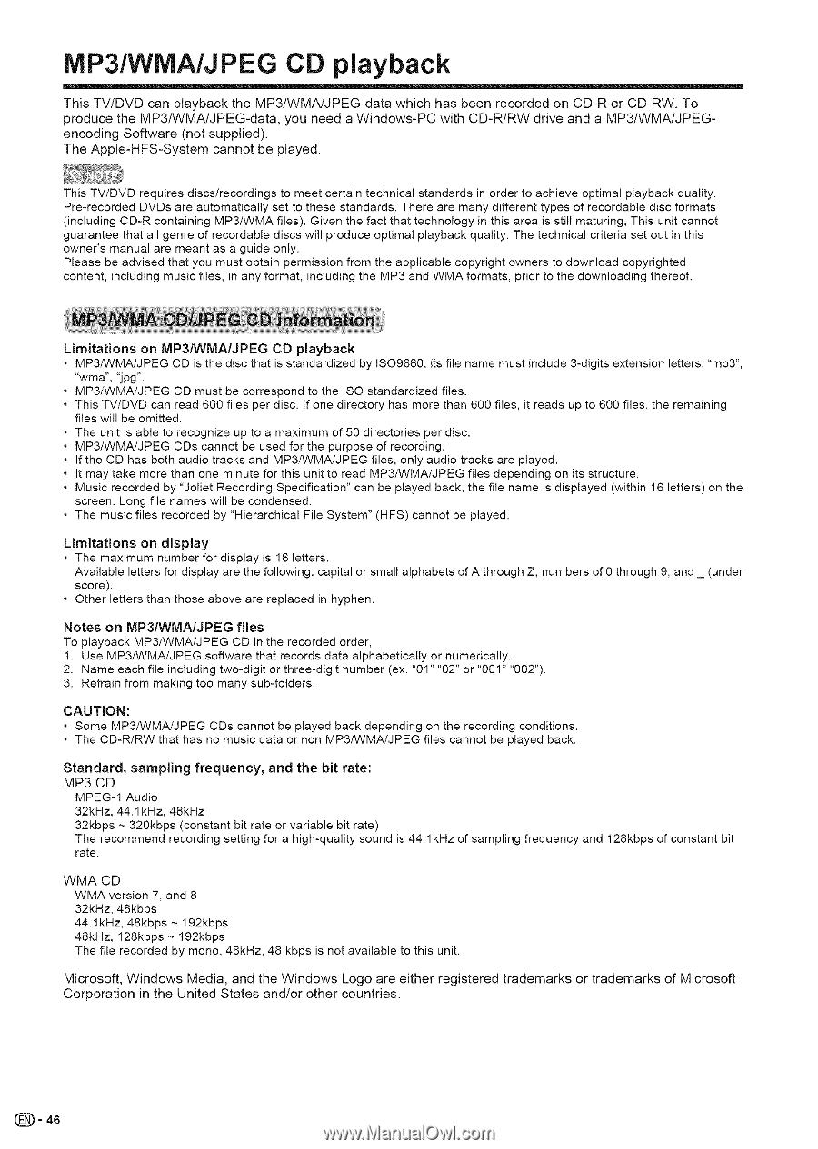 Sharp LC-26DV20U | Operation Manual - Page 55