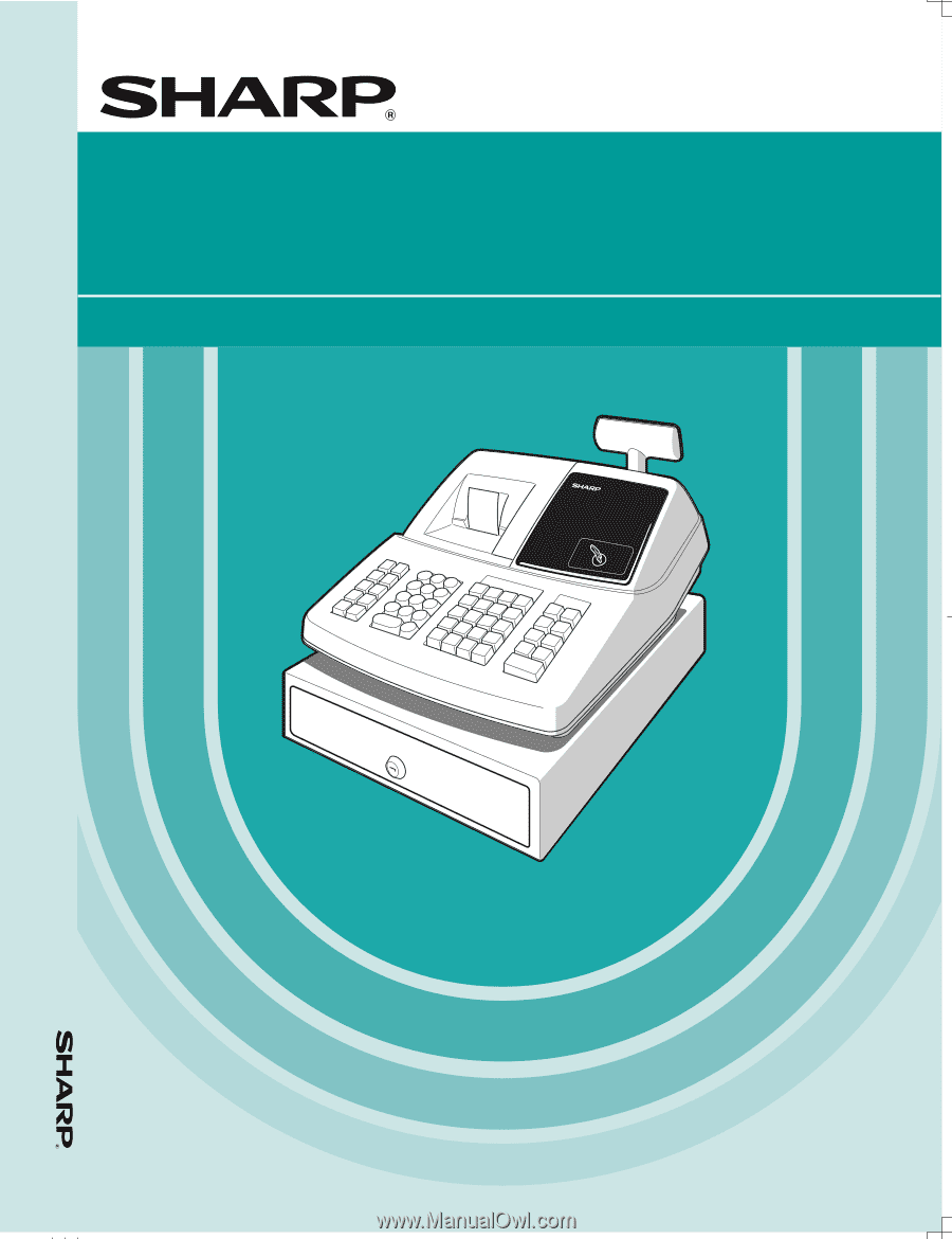 Sharp xe a203 xe a203 operation manual in english and spanish electronic cash register fandeluxe Image collections