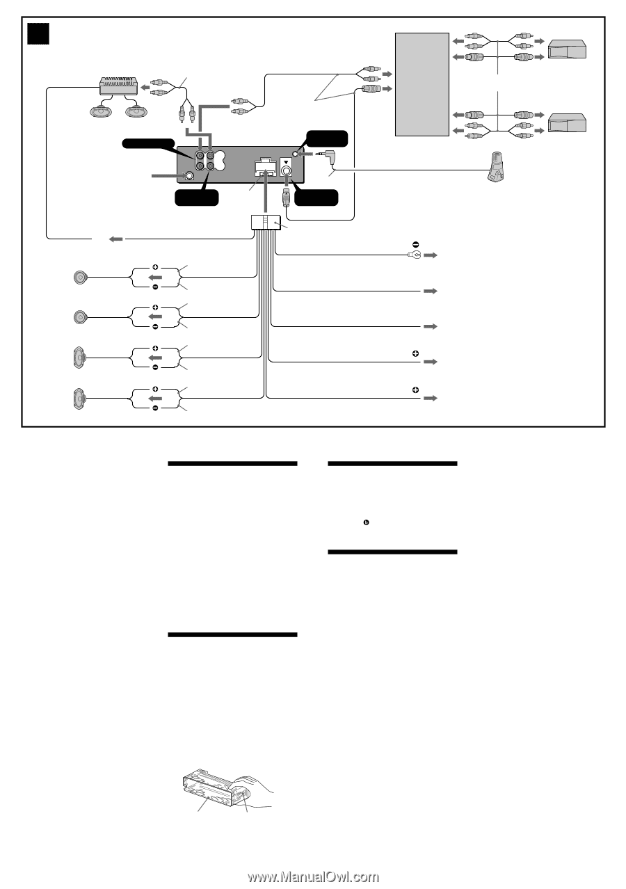 Sony Cdx M730 Wiring Diagram Trusted Diagrams M10 Cdxca710x Page 2 And Schematics Xplod