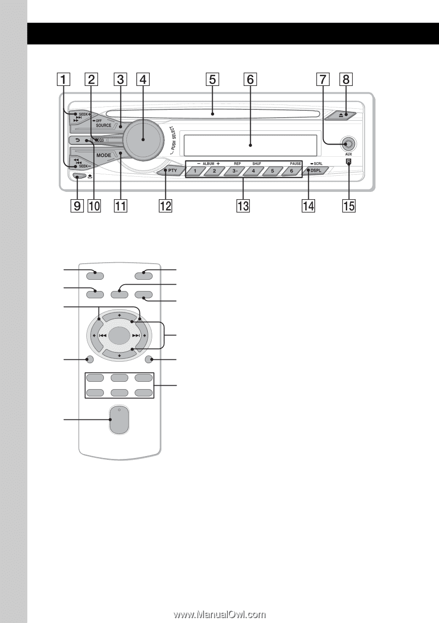 Sony Cdx Gt25mpw Operating Instructions Page 4 Wiring Diagram 6