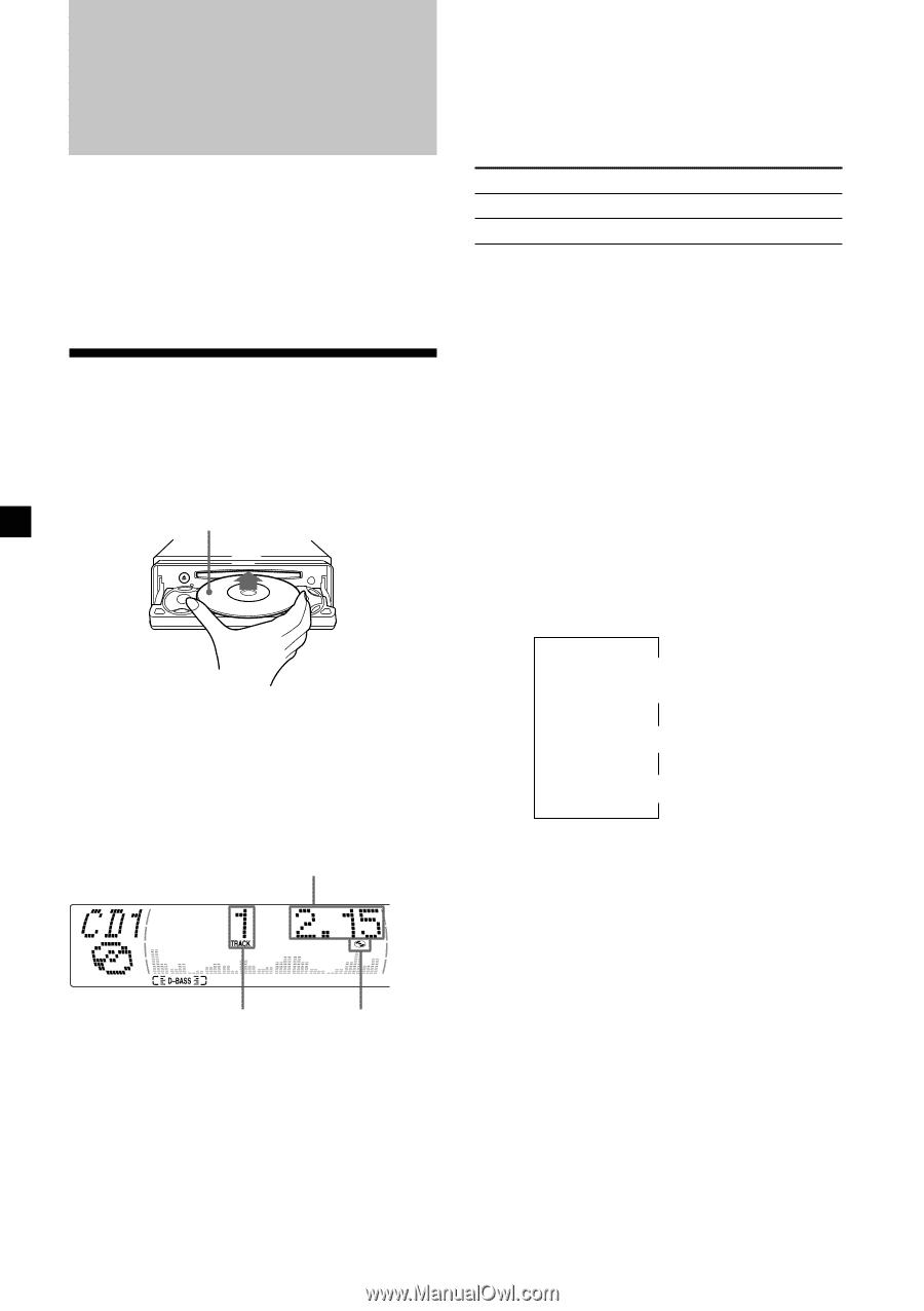 Sony Cdx M610 Primary User Manual English Espantildeol Wiring Diagram 10