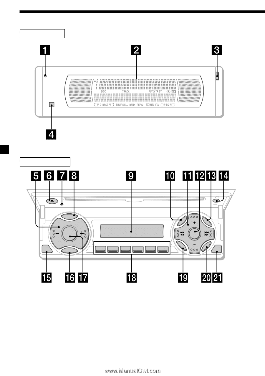 Sony Cdx M610 Primary User Manual English Espantildeol Wiring Diagram 6