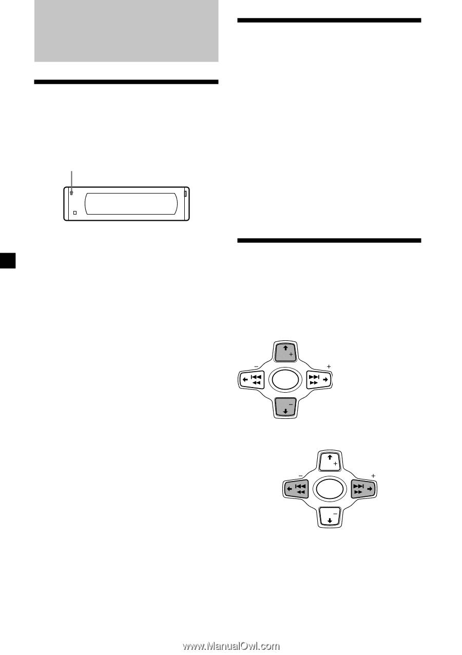 Sony Cdx M610 Primary User Manual English Espantildeol Wiring Diagram 8