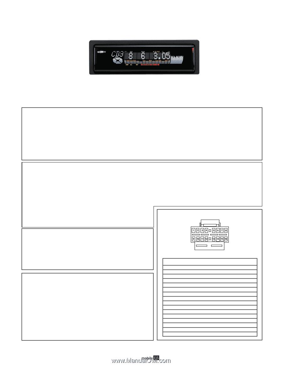 Sony Cdx M600 Wiring Diagram Custom Project Subaru Baja Diagrams 2994 Magnificent Elaboration