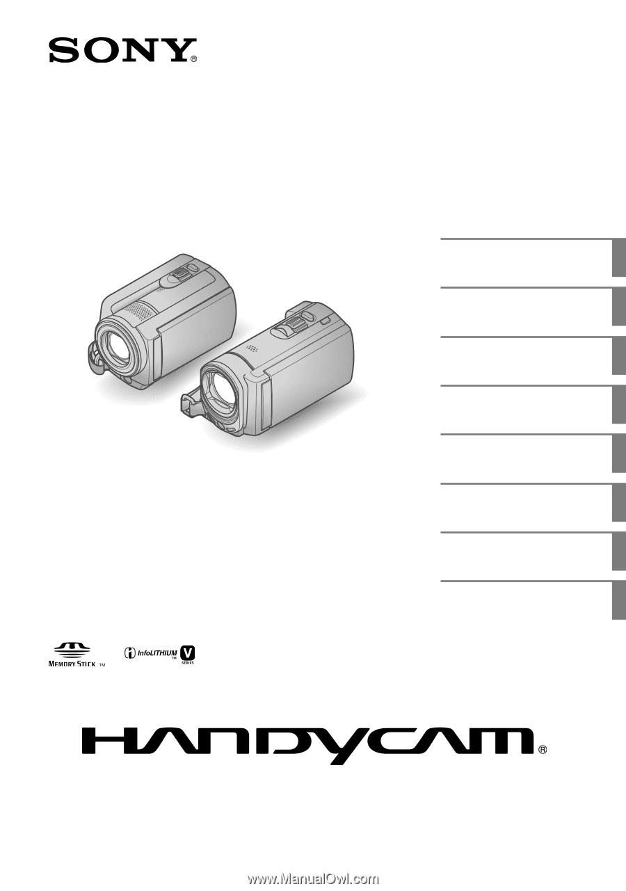 sony handycam dcr sr68 manual