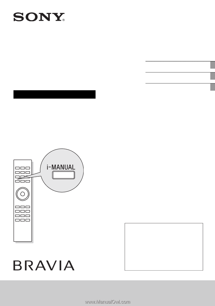 sony kdl 55hx800 setup guide operating instructions rh manualowl com Samsung Remote Control Manual DPX300U Manual