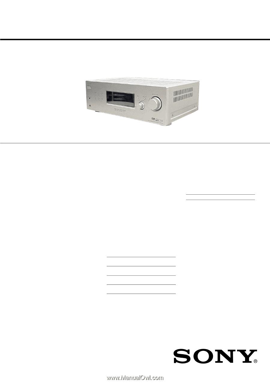 sony str k700 service manual rh manualowl com sony digital audio control center str-k700 manual sony str k700 specs