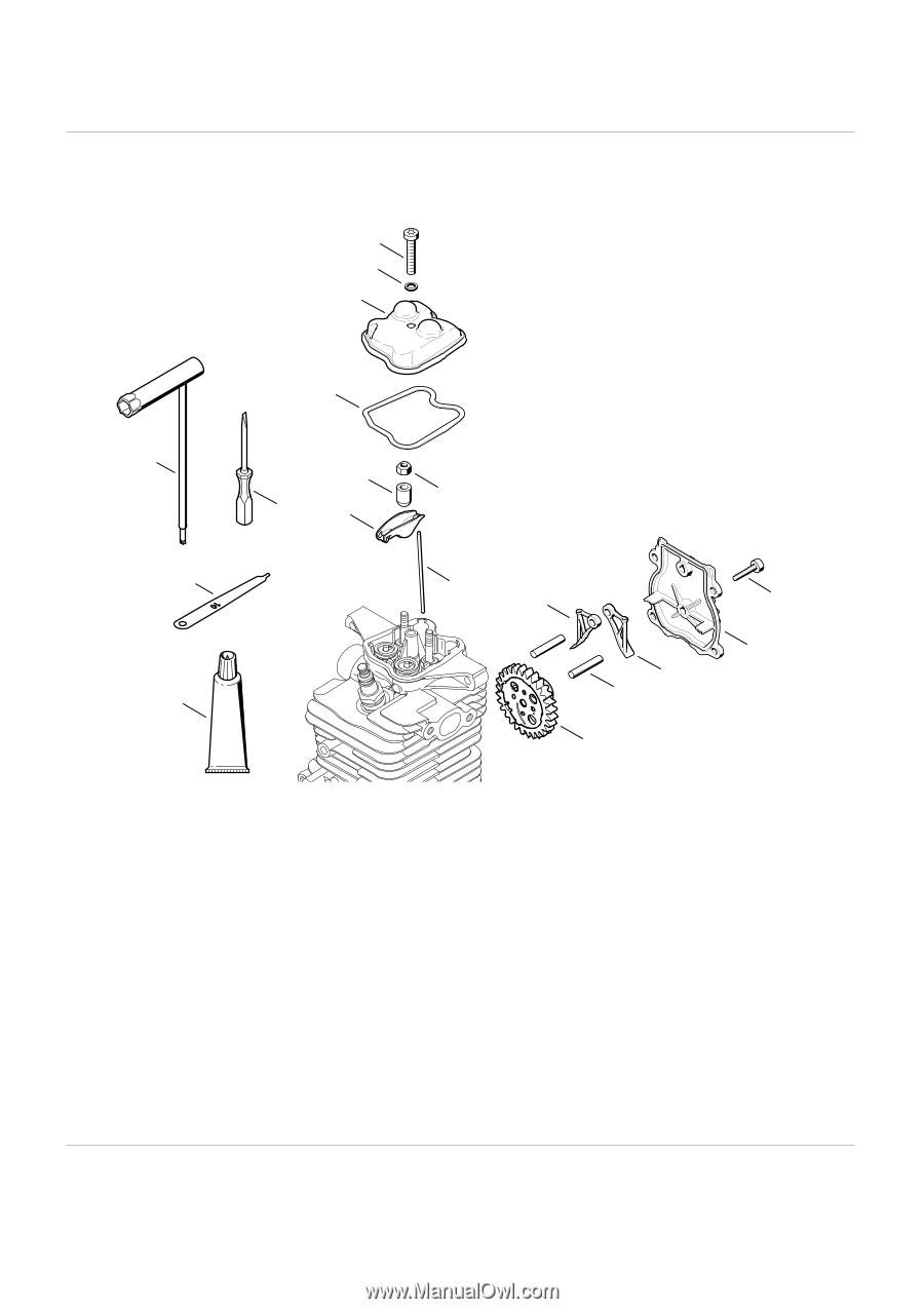 Stihl 034 Av Super Parts Manual