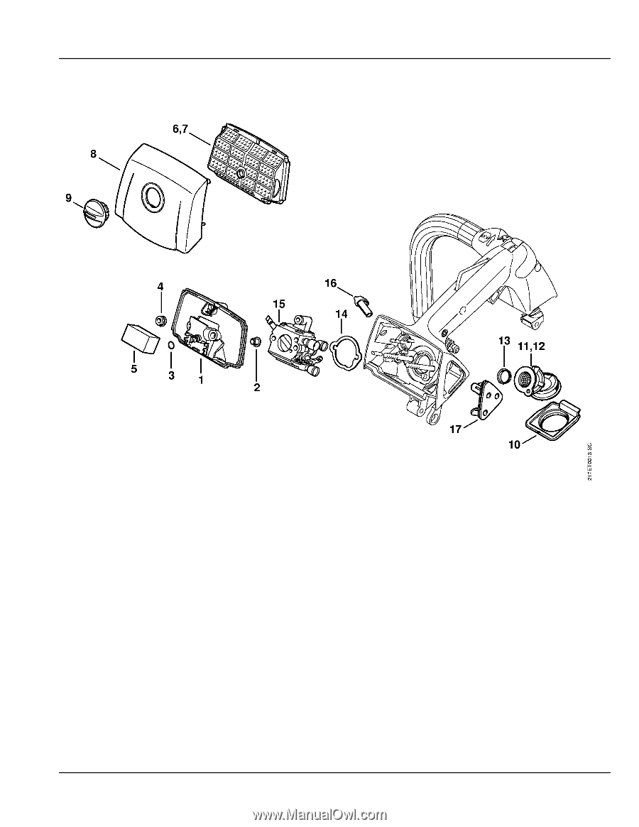 Stihl Ms 192 Parts Diagram - Today Wiring Schematic Diagram