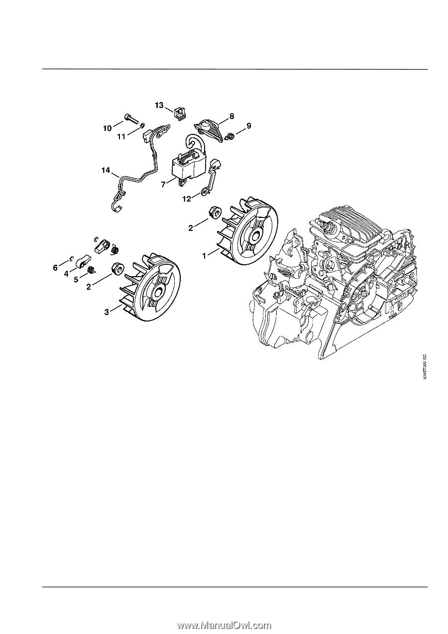 Stihl    MS       211    CBE      Parts       Diagram     Page 11