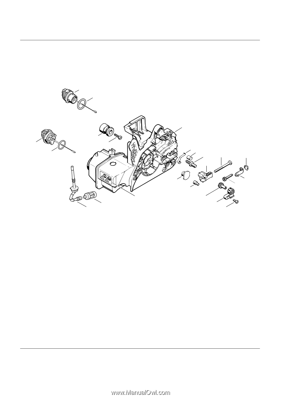 Stihl Chainsaw Ms250 Parts Diagram Images