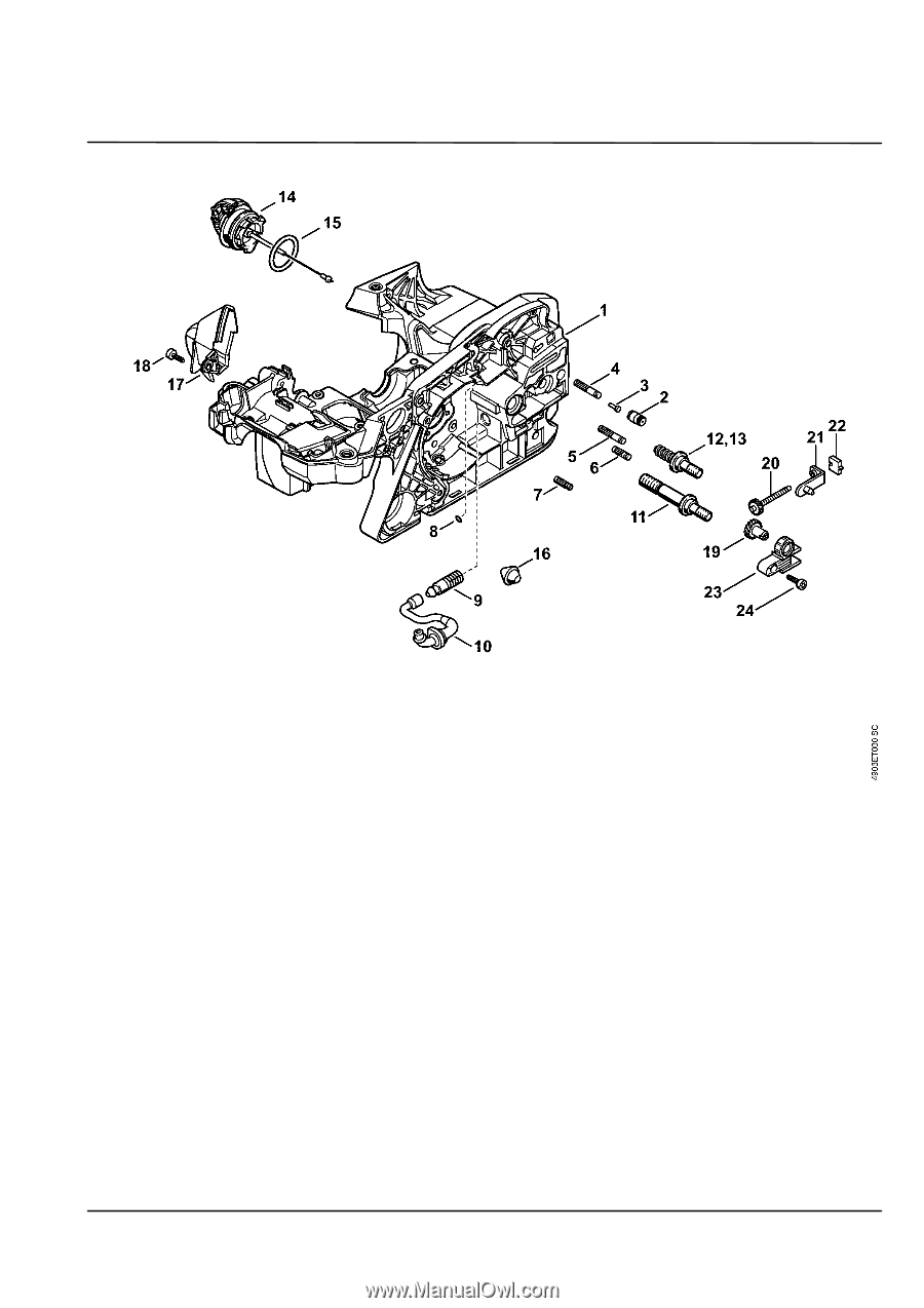WRG-1907] Stihl Engine Diagram