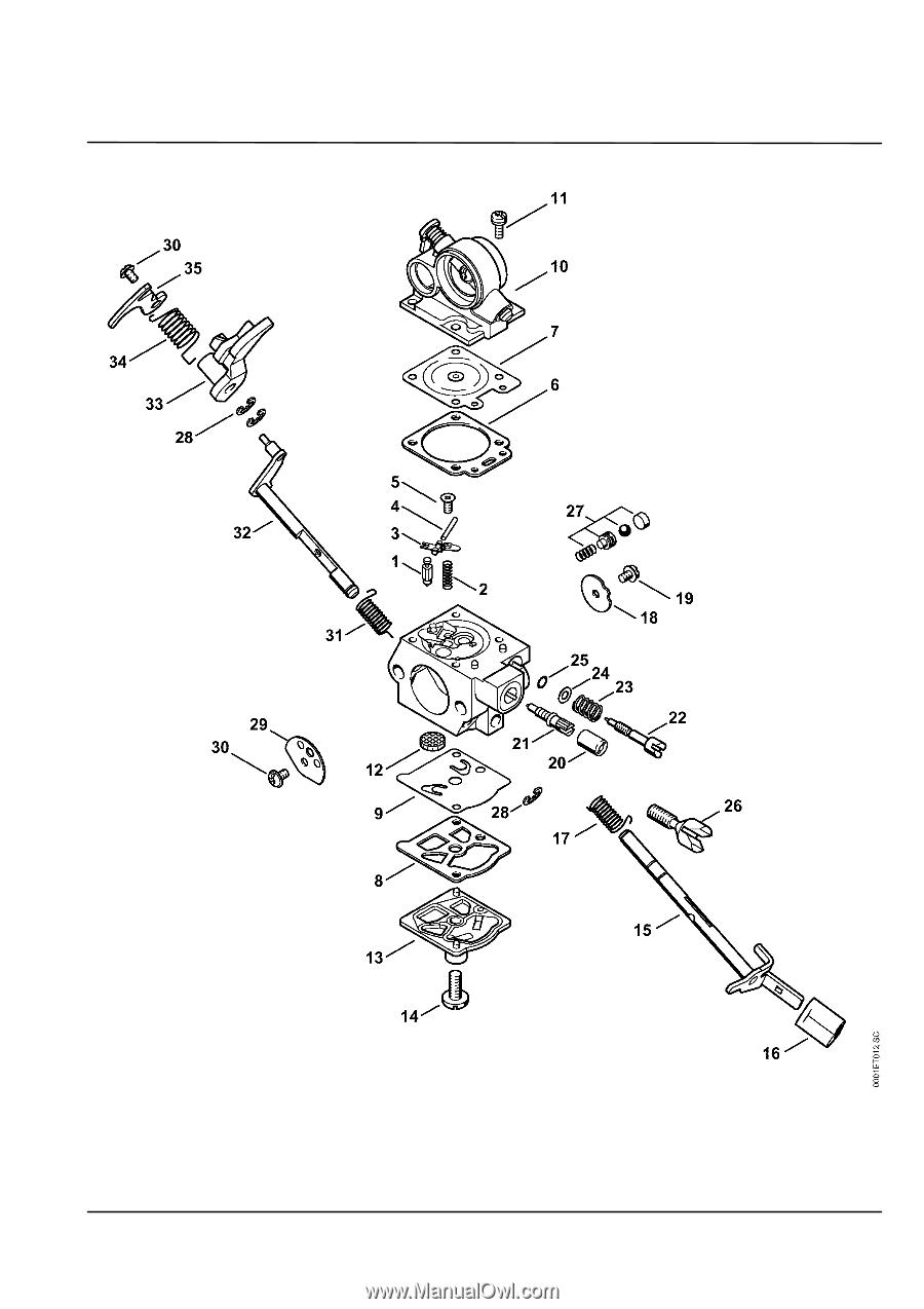 Stihl ms 311 parts diagram page 19 - Stihl ms 311 ...