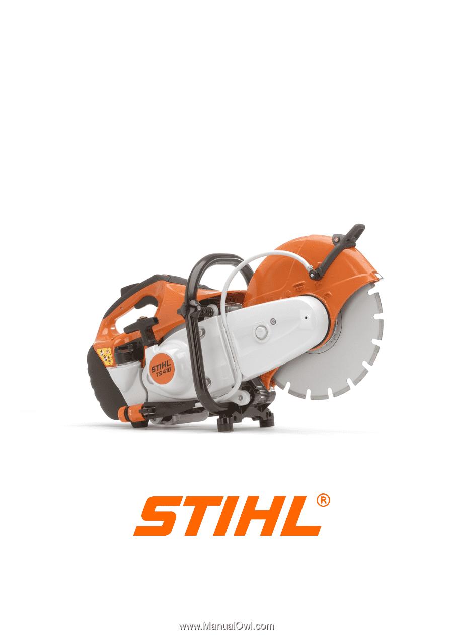 STIHL TS410, TS420