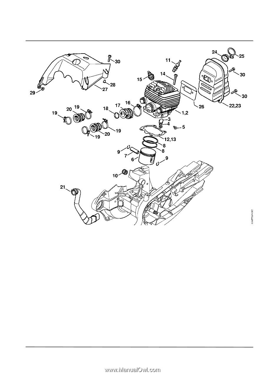 Stihl TS 700 STIHL Cutquik | Parts Diagram