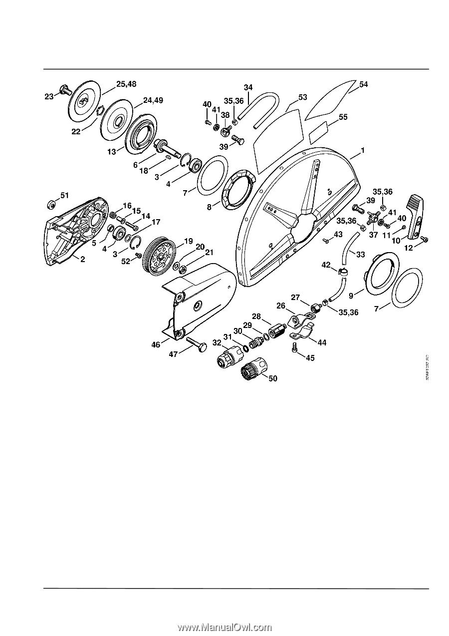 Stihl TS 700 STIHL Cutquik      Parts       Diagram     Page 33