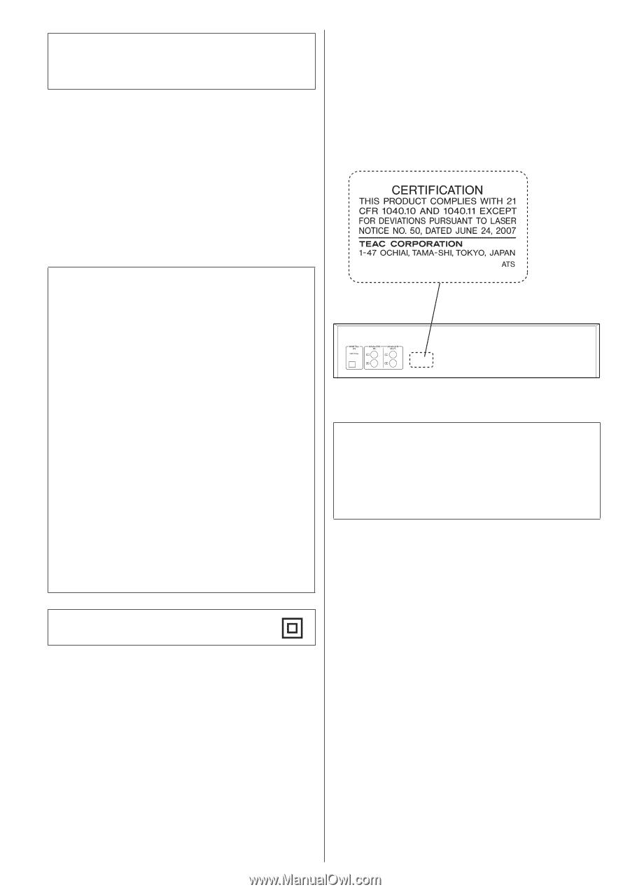 TEAC CD-RW890   CD-RW890 Manual