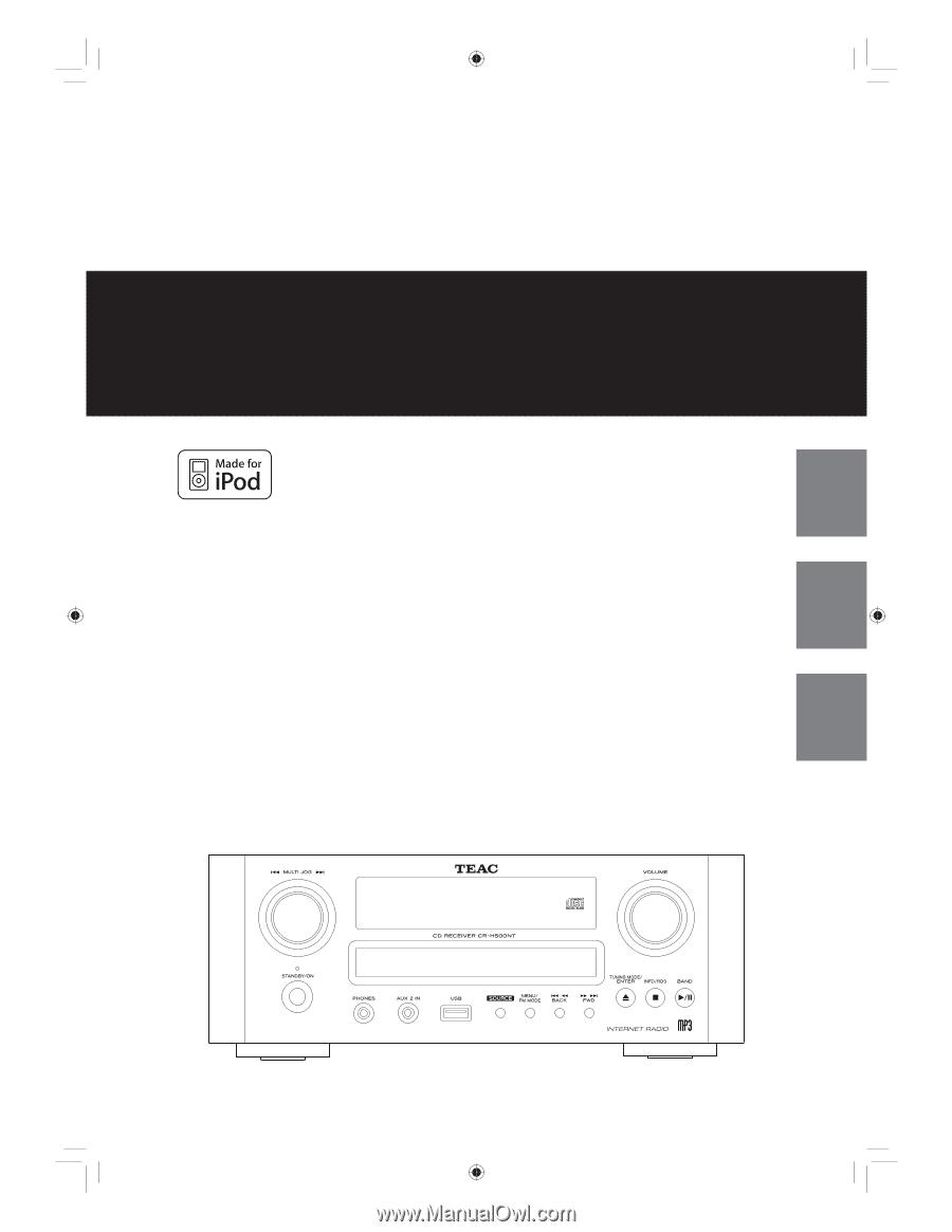 Инструкция TEAC T-H380 - Caw