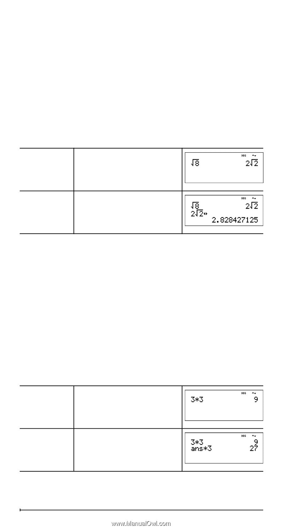 Texas Instruments TI-36X Pro | User Manual