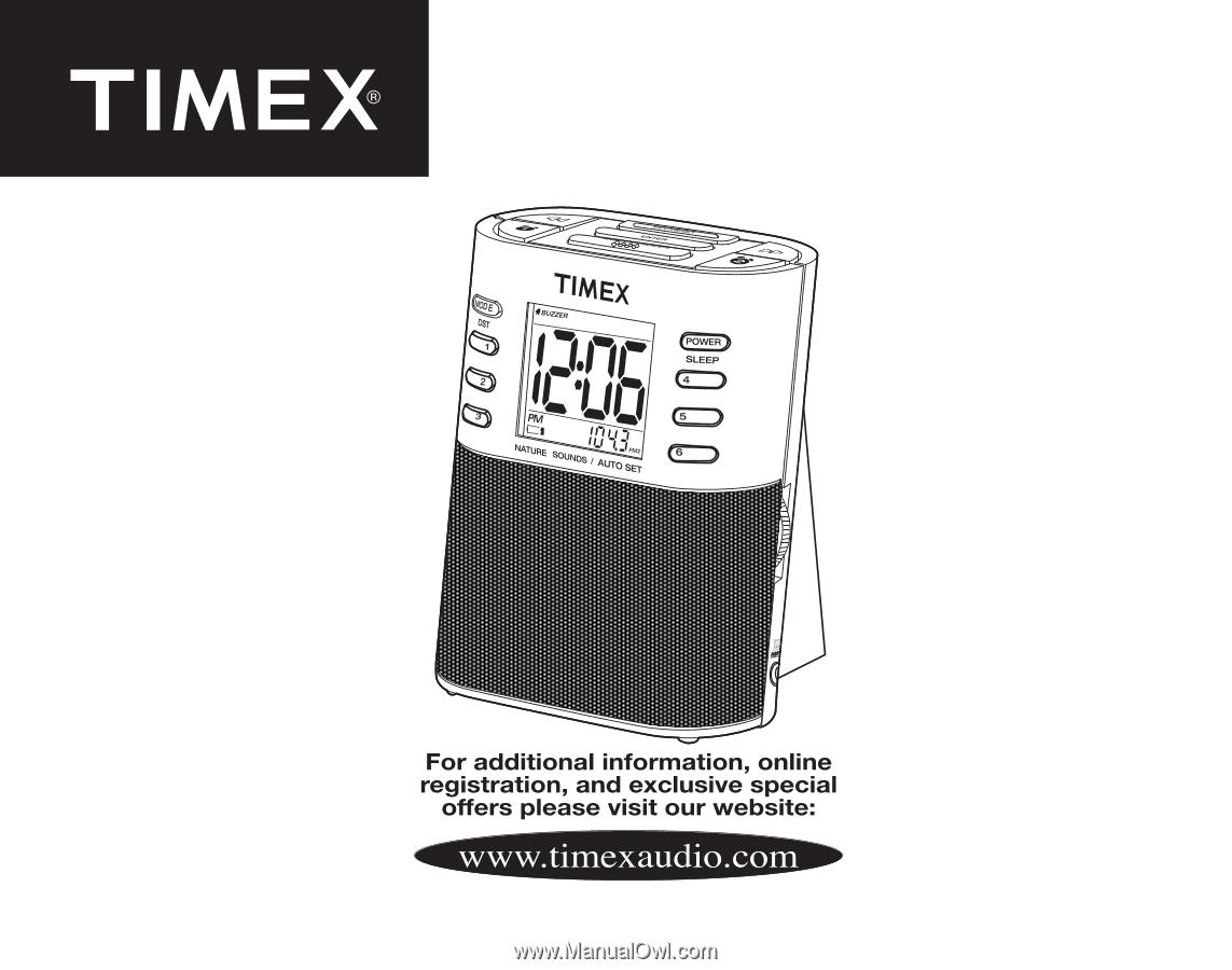 timex t307s operation manual rh manualowl com Timex Alarm Clock Instruction Manuals timex t307s manual pdf