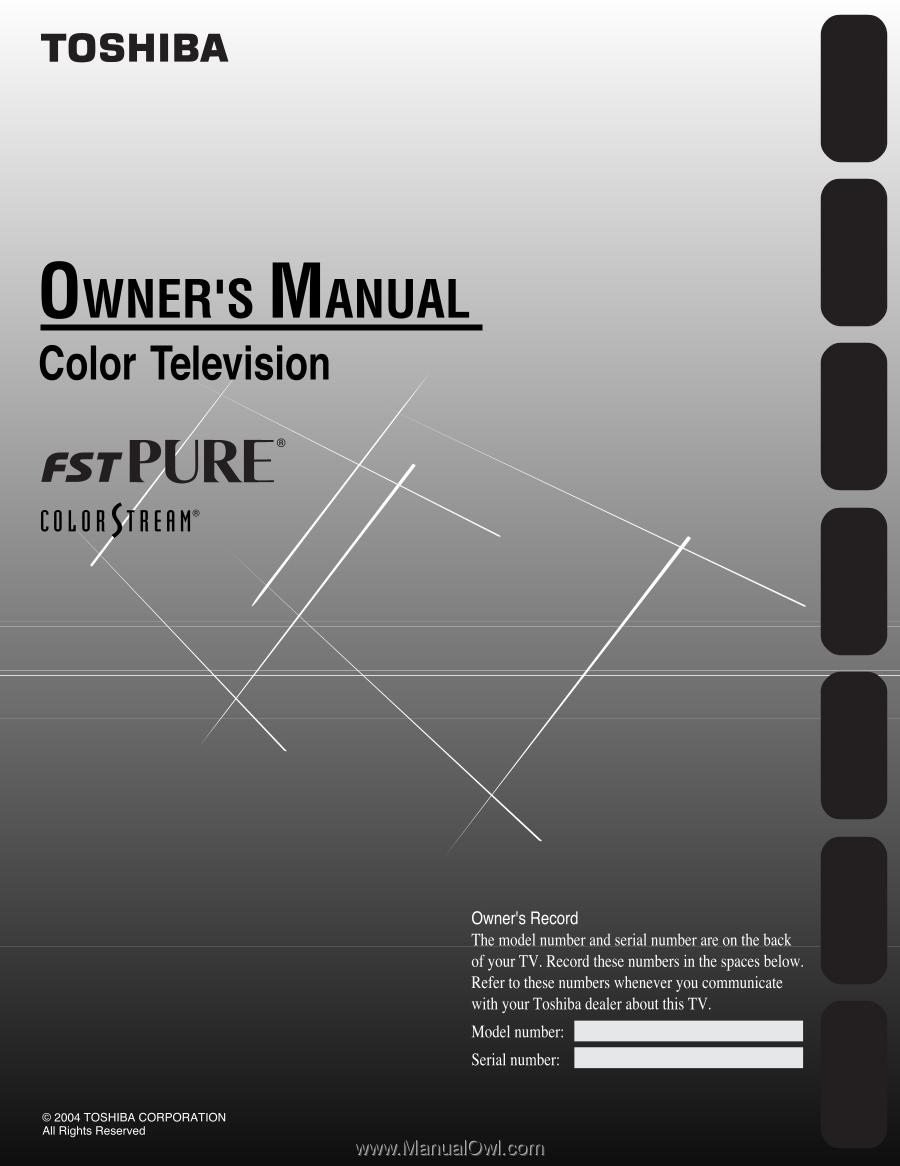 Toshiba 24af44 User Manual