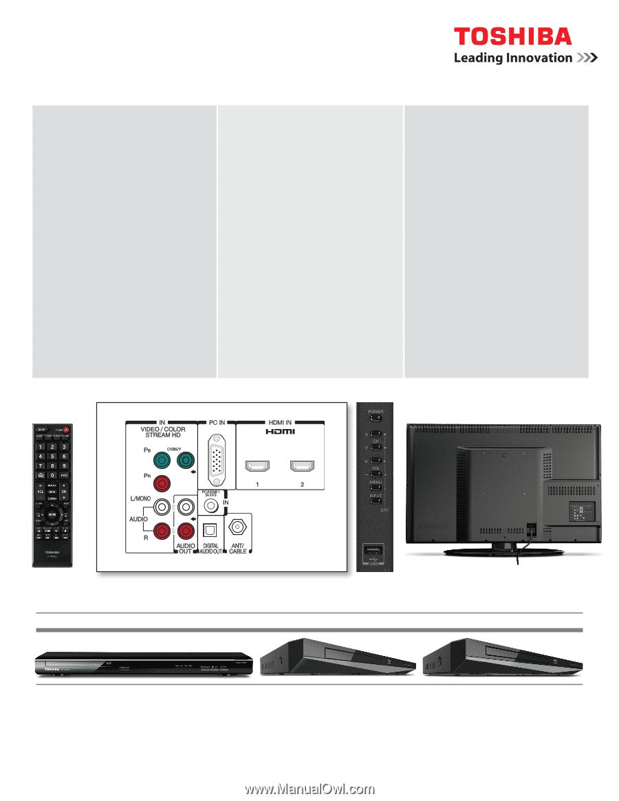 toshiba tv 40e220u manual