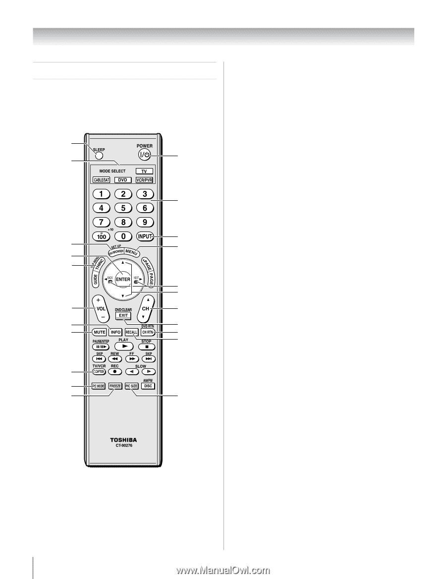 Toshiba Regza 46rf350u Manual Tv Wiring Diagrams 26ev700 Ch A C Gh B N Array Owner U0027s English Page 22 Rh Manualowl Com