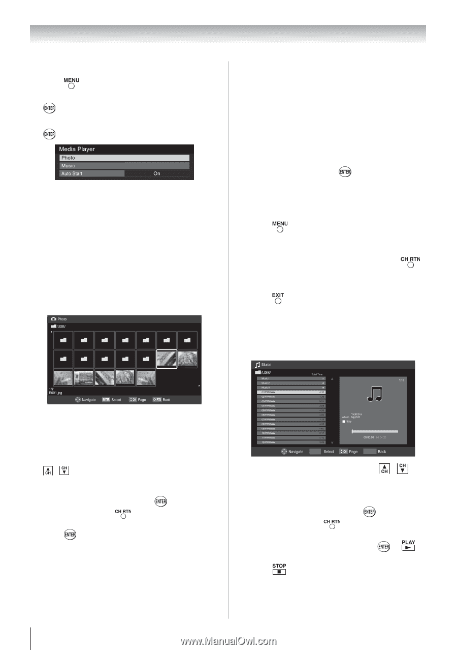 toshiba 46g310u user manual page 43 rh manualowl com 120 Inch Flat Screen TV Toshiba 46 TV