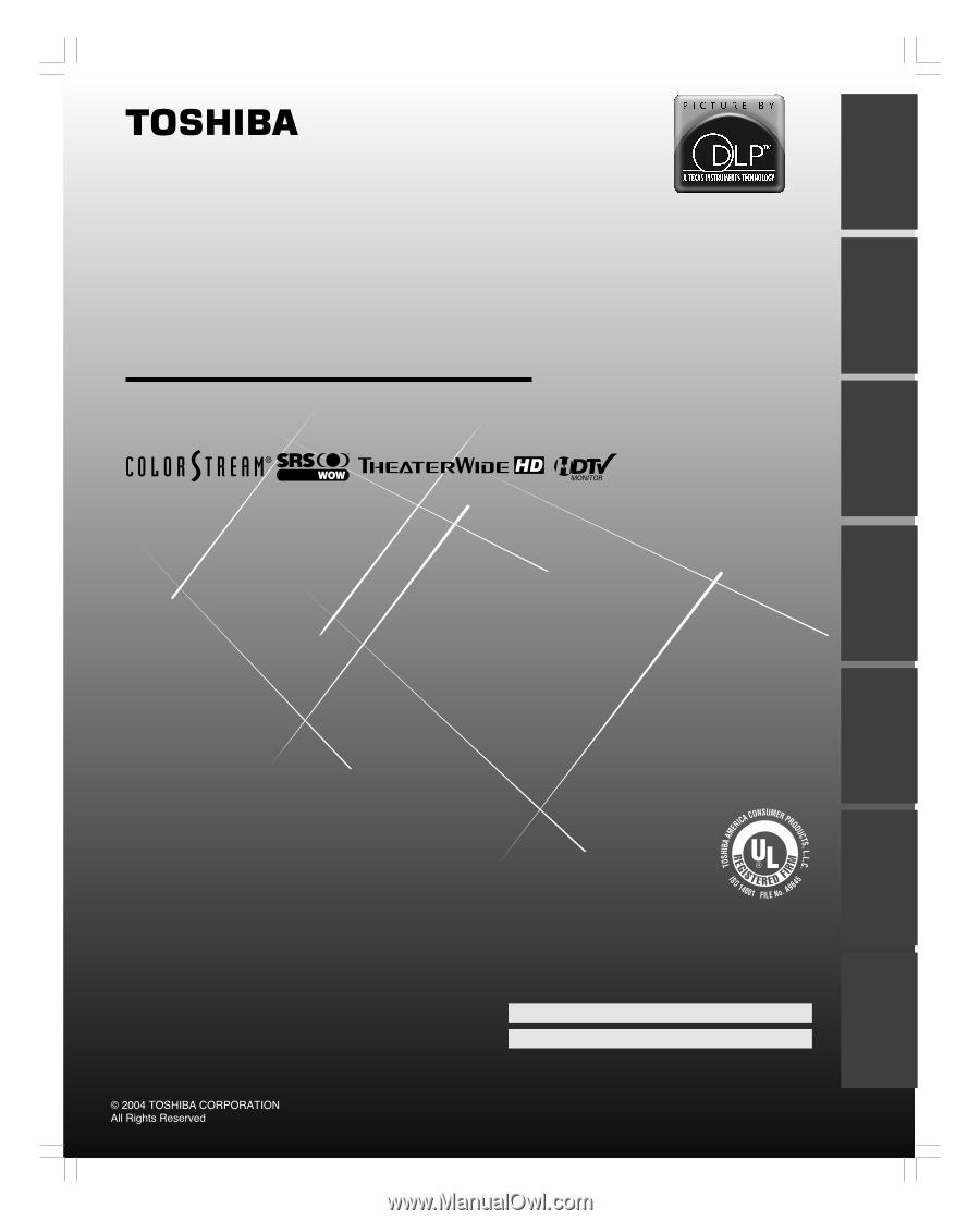 Toshiba 52hm84