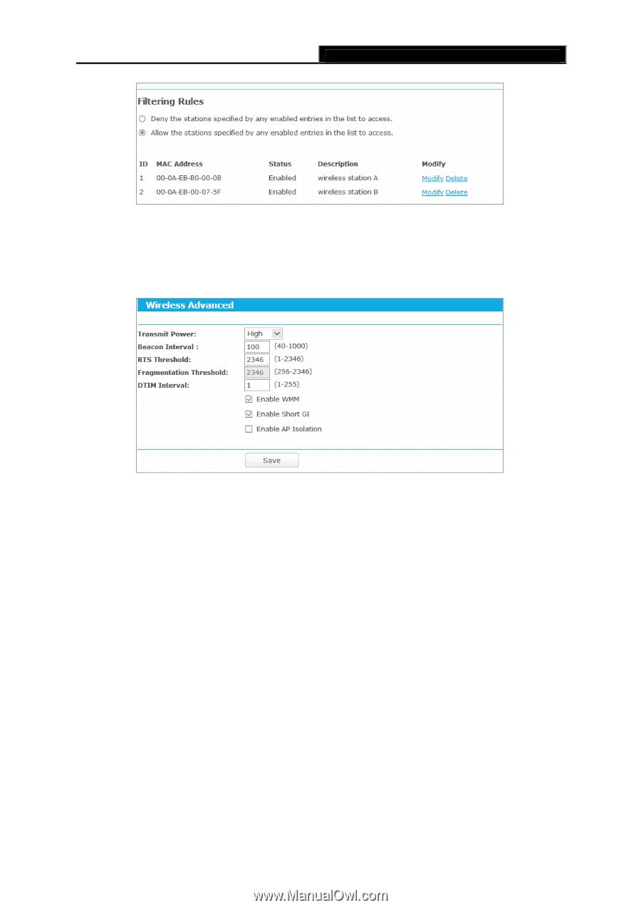 TP-Link Archer C9 | Archer C9 V2 User Guide - Page 68