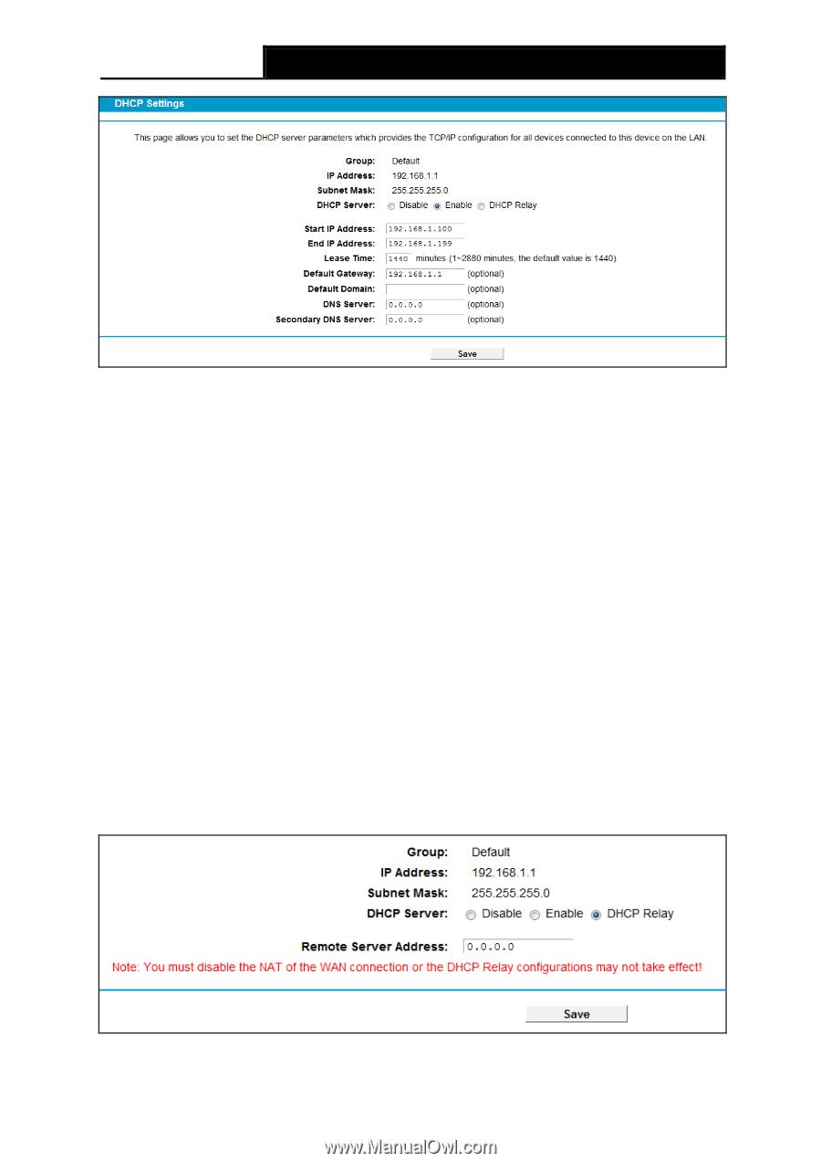 TP-Link TD-VG5612 | TD-VG5612 V1 User Guide - Page 65