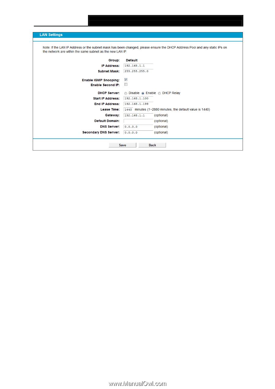Tp Link Ip Address