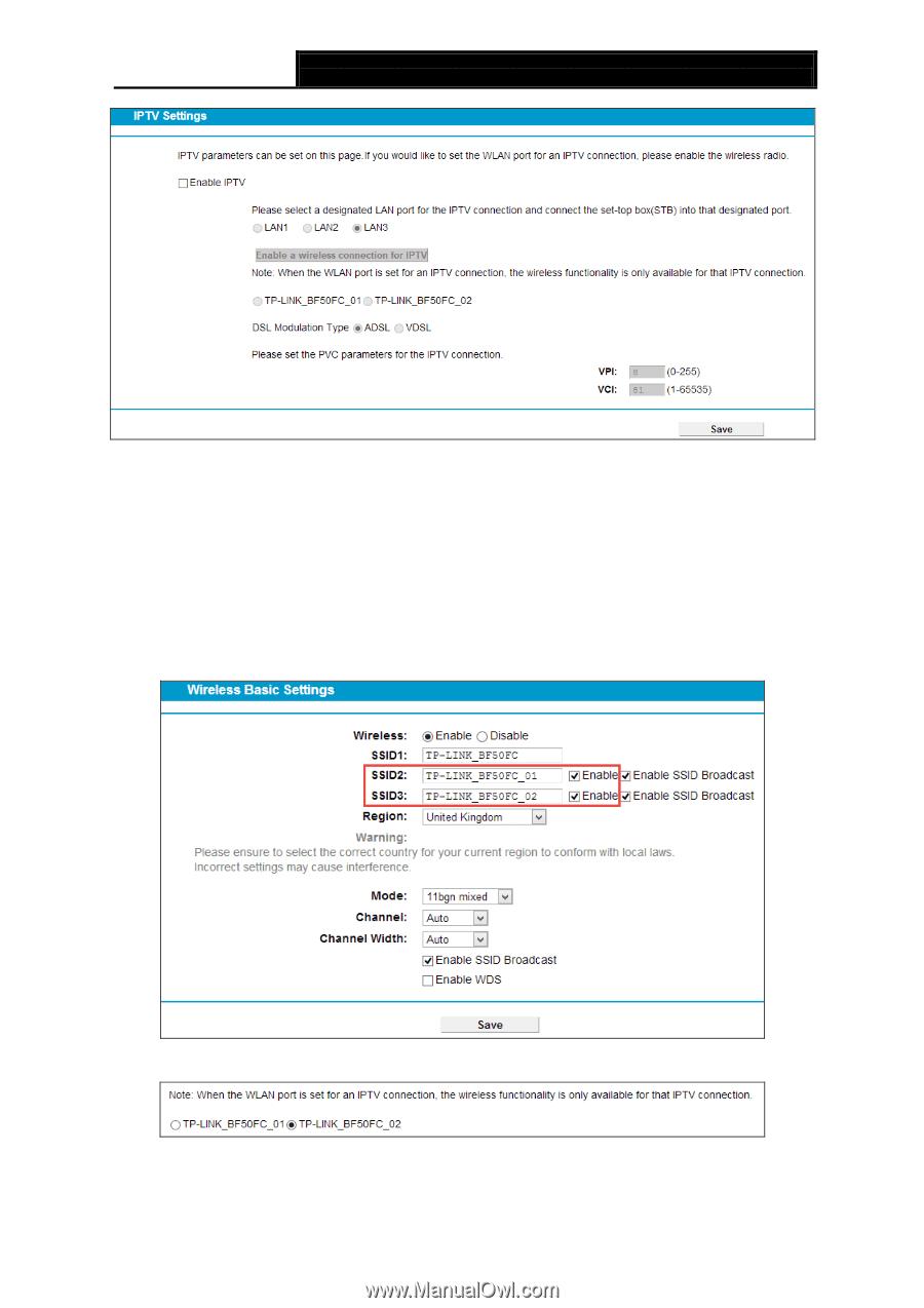 TP-Link TD-W9970 | TD-W9970 V1 User Guide - Page 62