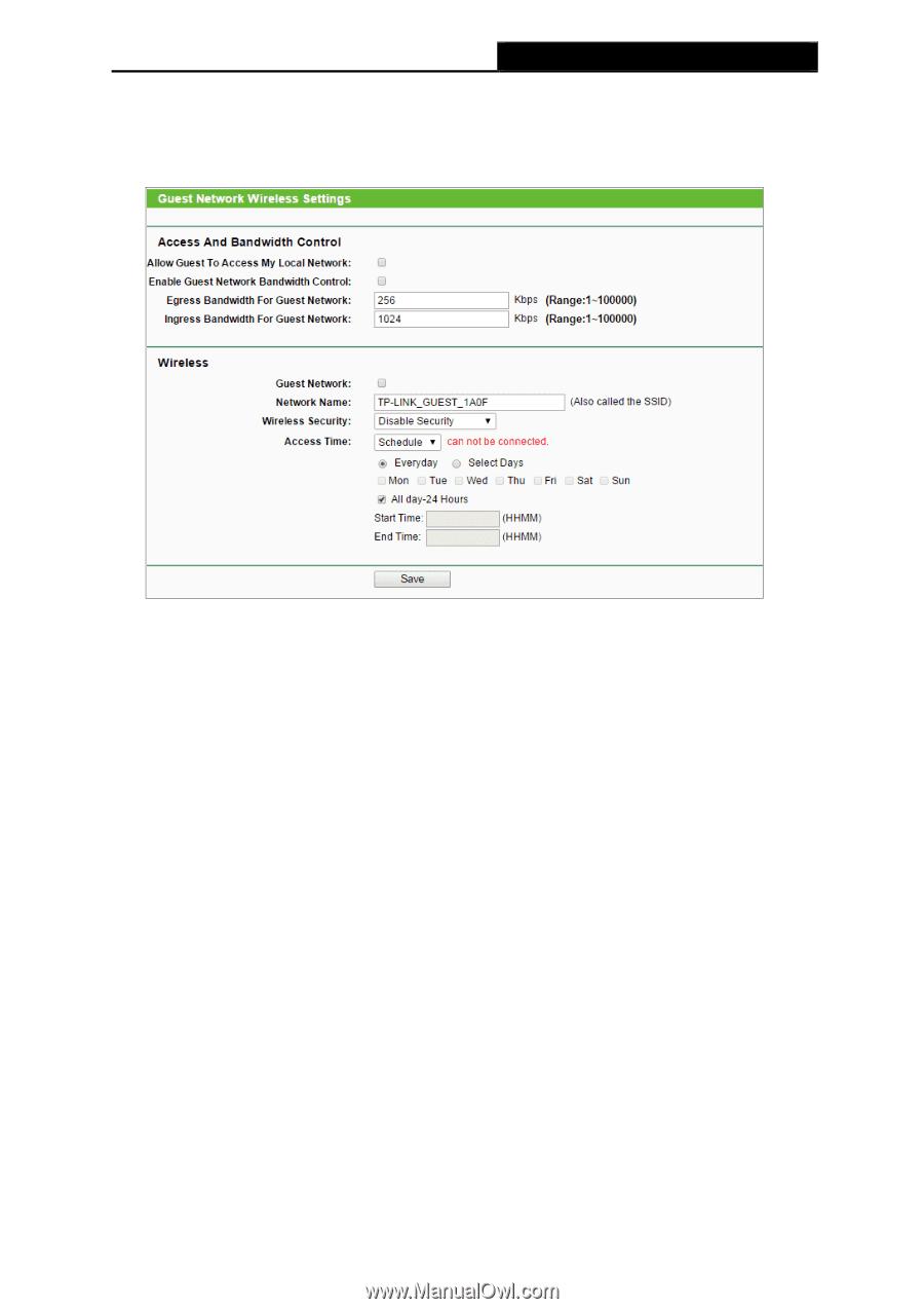 TP-Link TL-MR6400 | TL-MR6400 V1 User Guide - Page 108