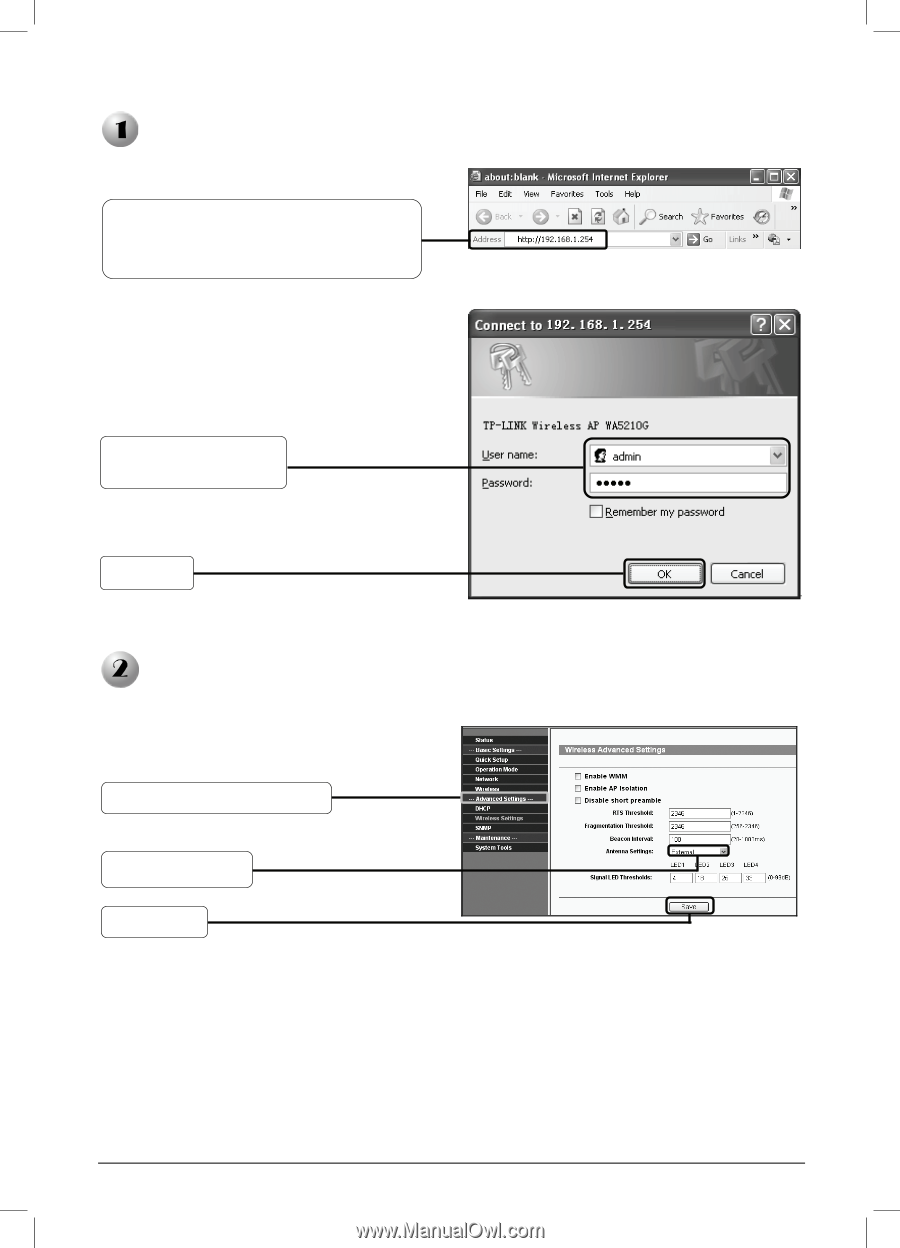 TP-Link TL-WA5210G | TL-WA5210G V1 QIG 7106503701 - Page 3