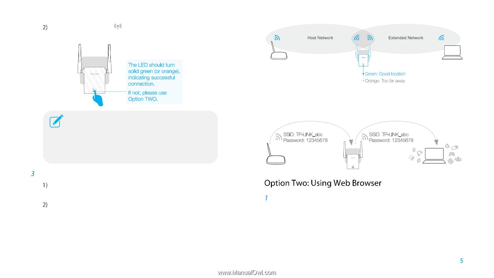TP-Link TL-WA855RE | TL-WA855RE V1 User Guide - Page 5
